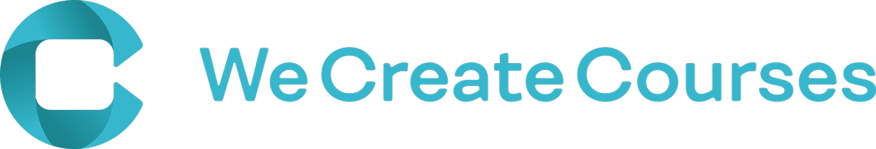 We Create Courses logotip